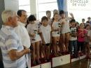 A emocionante Liga Concello de Vigo de natación escolar está de volta este domingo na piscina municipal do Carme coa disputa da segunda xornada